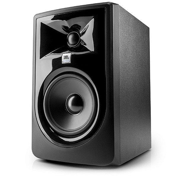 """Monitor De Estúdio Ativo JBL 308P MKII 8"""" Bivolt"""