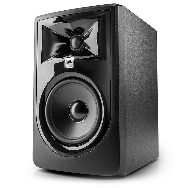 """Monitor De Estúdio Ativo JBL 306P MKII 6"""" Bivolt"""