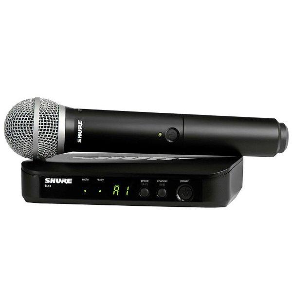 Sistema De Microfone Sem Fio Blx-24Br/Pg58 M15 Shure