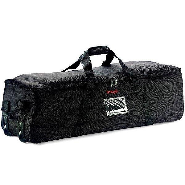 Bag de Ferragens Bateria Stagg PSB-48 Preto com Rodinhas