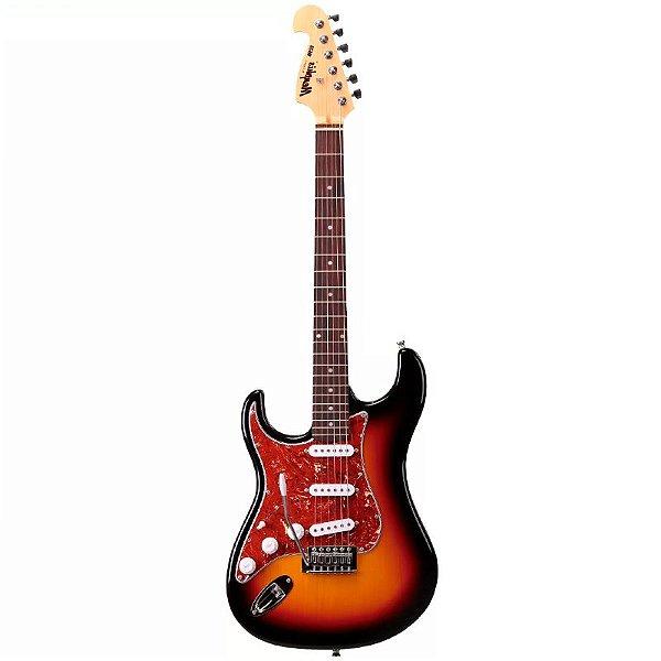Guitarra Canhota Memphis Tagima MG32 Sunburst