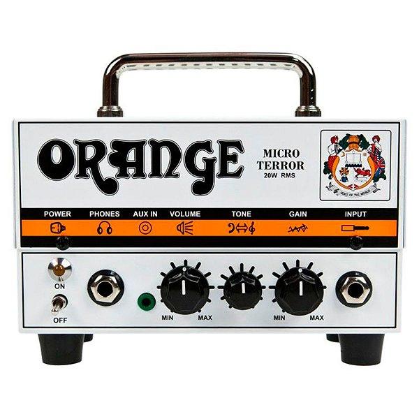 Cabeçote Pré Valvulado Guitarra Amplificador Orange Micro Terror 20W