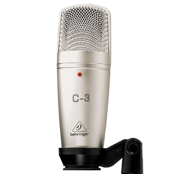Microfone Condensador Behringer C3 Para Estúdio
