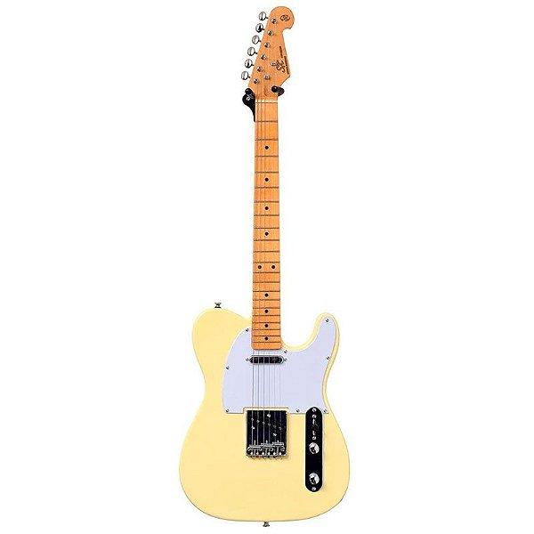 Guitarra SX Telecaster STL 50 Vintage White Com Bag