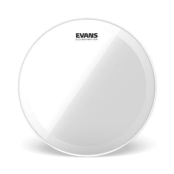 Pele Para Bumbo Evans Bd18gb4 Hidráulica Transparente