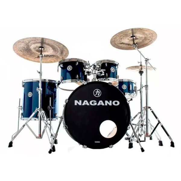 Bateria Acústica Nagano Garage Rock 22 Blue Night