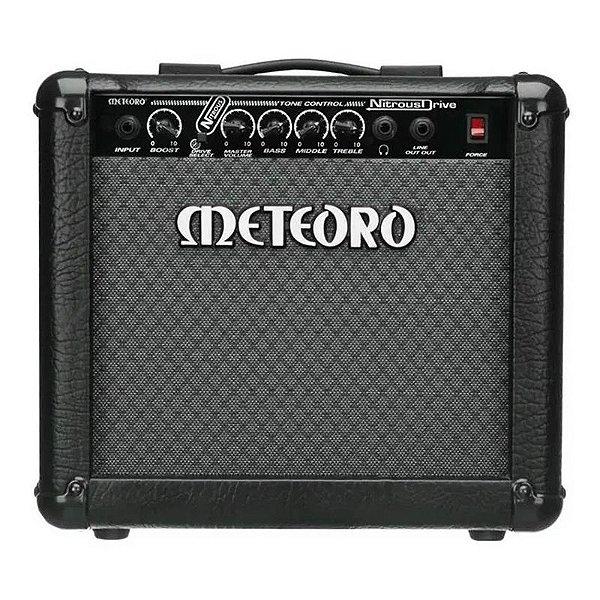 Cubo Amplificador Guitarra Meteoro Nitrous Drive 15W Bivolt