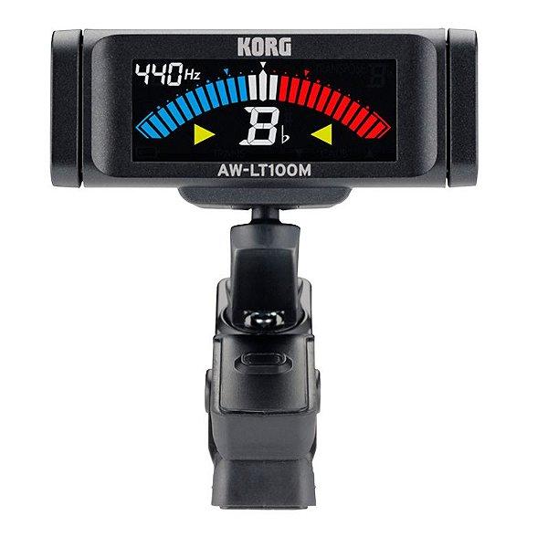 Afinador Digital Korg Aw-lt100m Clipe Para sopro e corda