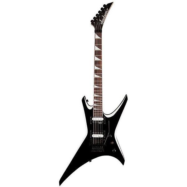 Guitarra Jackson Warrior J32 572 Black With White Bevels
