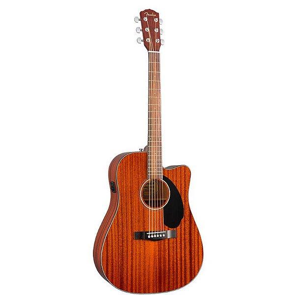 Violão Fender Cd-60 Sce Dreadnought 022 All Mahogany