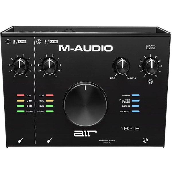 Interface Áudio M-Audio USB com MIDI IN/OUT 2 Canais