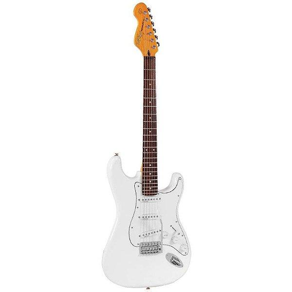 Guitarra Stratocaster Vintage V6JMH Fillmore Reissued Series Olympia White