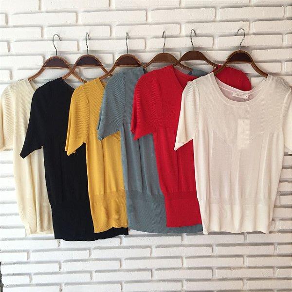 Blusinha básica cores