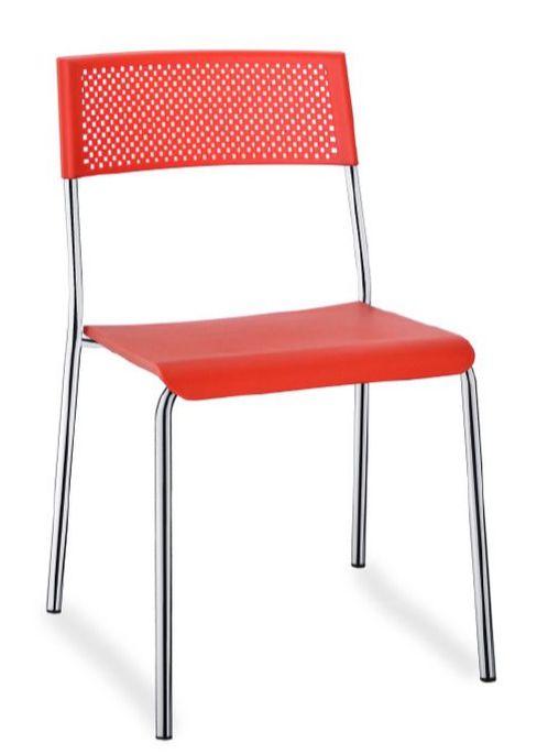 Cadeira de plástico injetado durável Easy