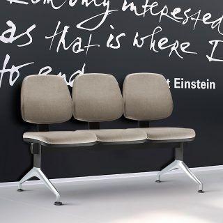 Cadeira Longarina com 2 ou 3 Lugares