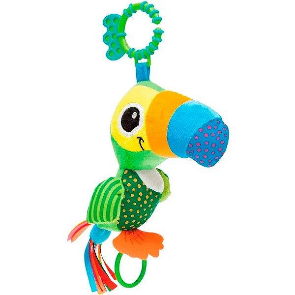 Brinquedo Pedagógico Buba Tucano Zuzu Atividades Verde