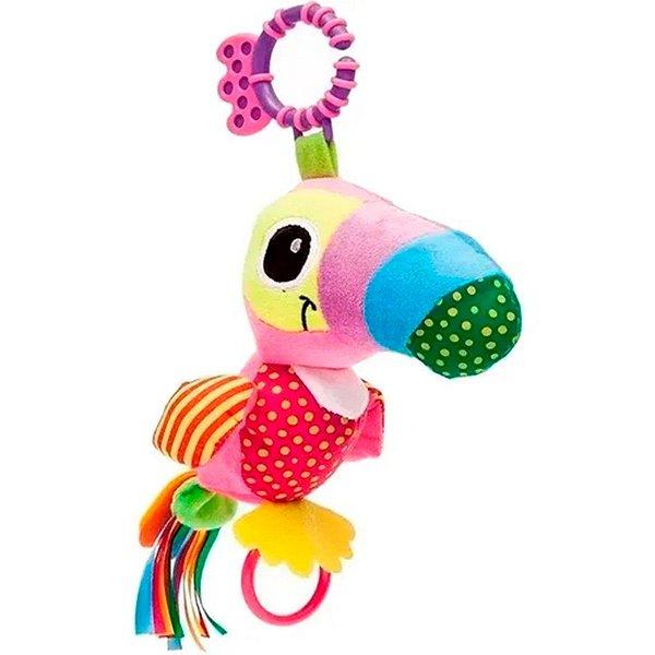 Brinquedo Pedagógico Buba Tucano Zuzu Atividades Rosa