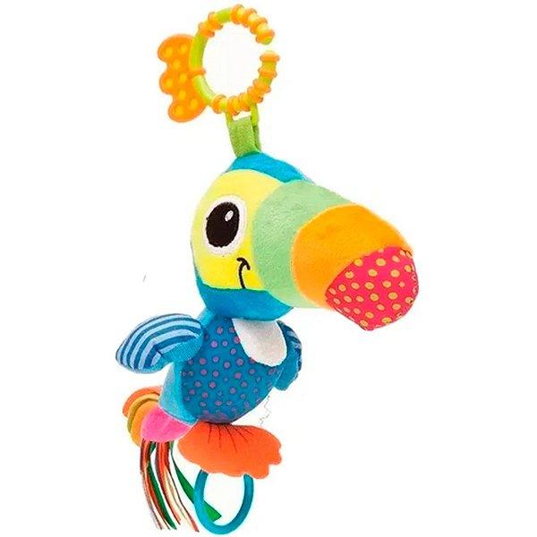 Brinquedo Pedagógico Buba Tucano Zuzu Atividades Azul
