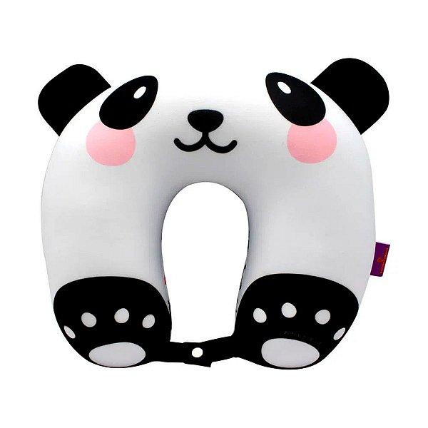 Almofada Descanso De Pescoço Panda