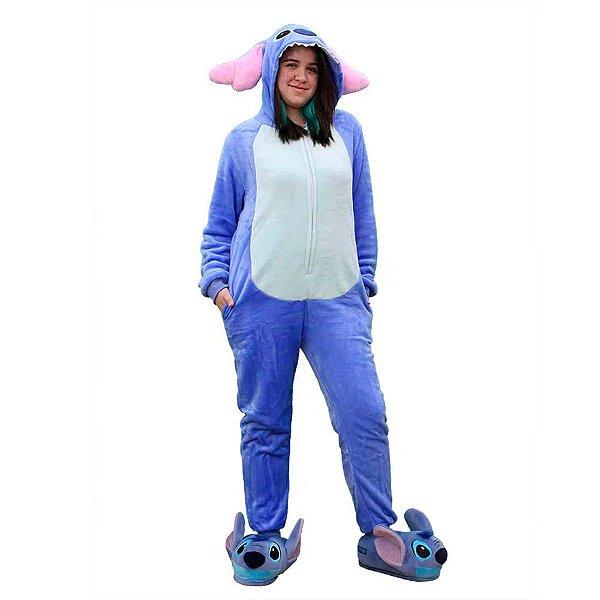 Macacão Kigurumi Stitch Disney M