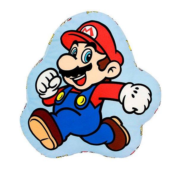 Almofada Formato Super Mario Evergreen Zona Criativa