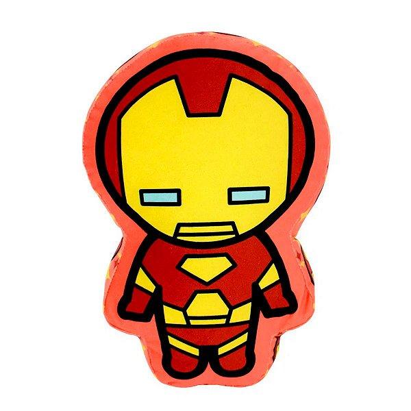 Almofada Formato Super Herói  Iron Man Da Marvel