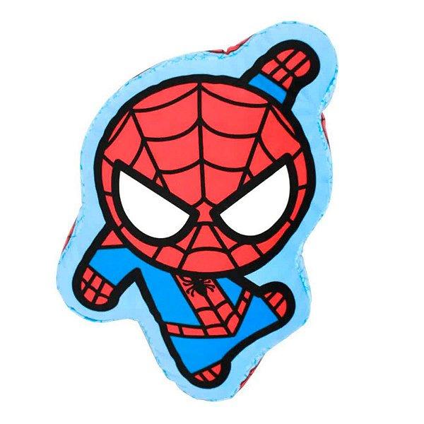 Almofada Formato Super Herói Spider Man Da Marvel