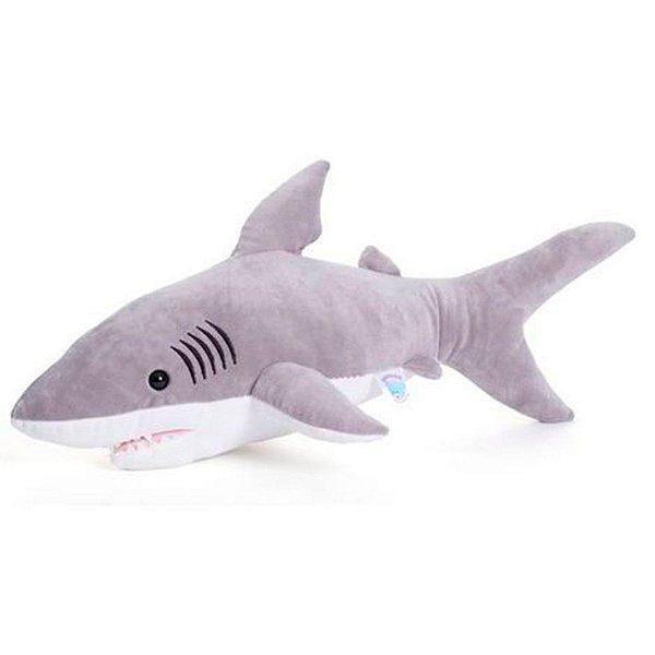 Almofada Bicho De Pelúcia Tubarão Fun