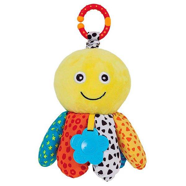 Brinquedo Infantil Polvinho Treme-Treme Com Corda Buba