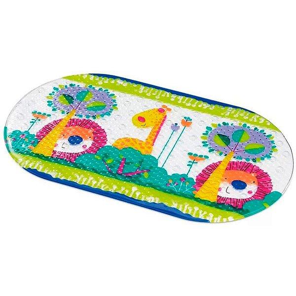 Tapete Para Banho Bebe Infantil Antiderrapante Safari