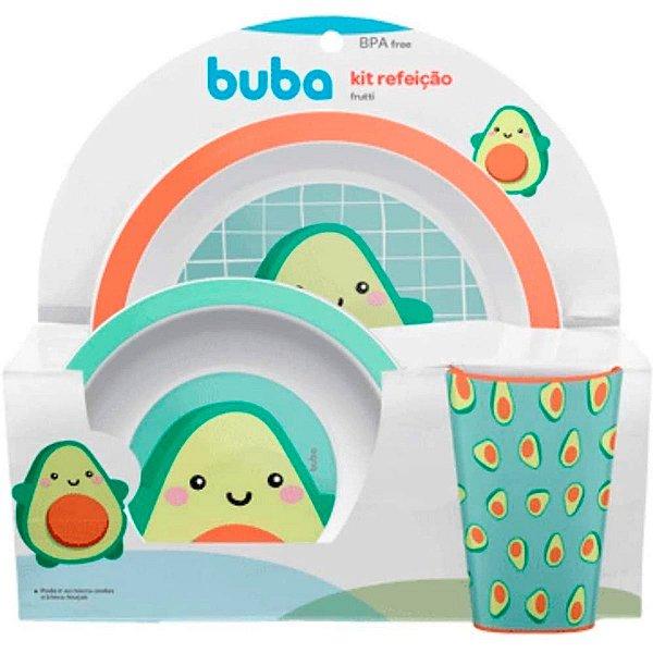 Kit Refeição Infantil Frutti Avocado Buba Baby