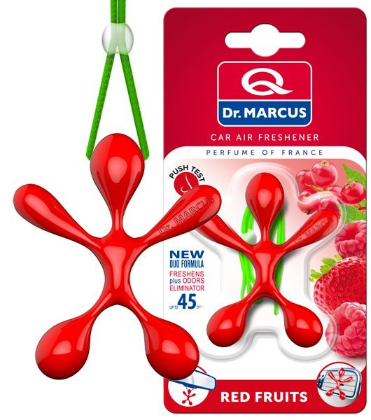 Aromatizante Dr. Marcus Lucky Top Red Fruits