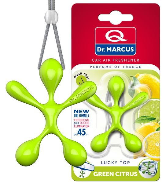 Aromatizante Dr. Marcus Lucky Top Green Citrus