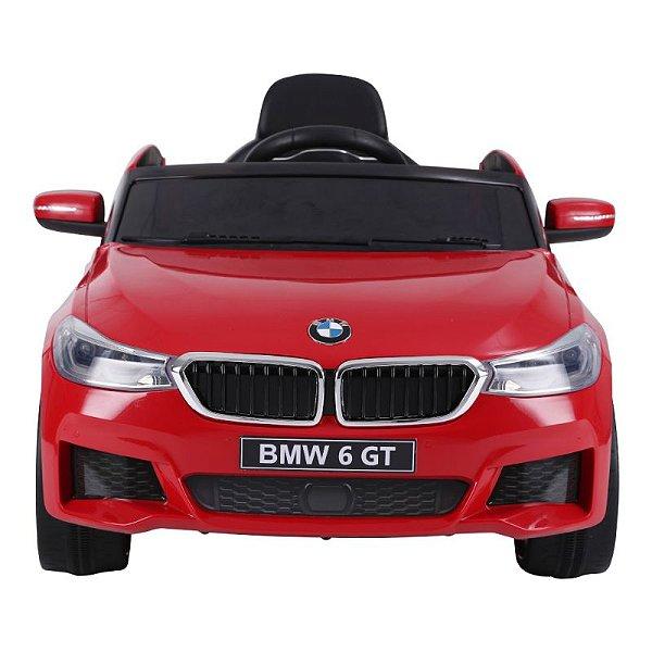 Carro Elétrico BMW 6 GT 12V Vermelho