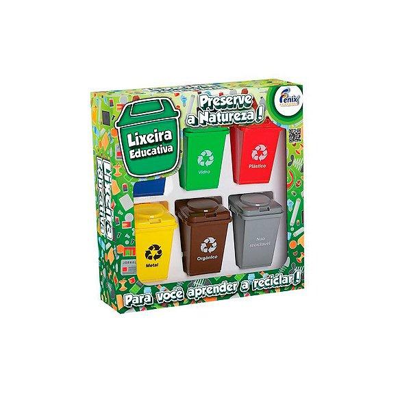 Jogo Reciclagem Lixeira Educativa Infantil