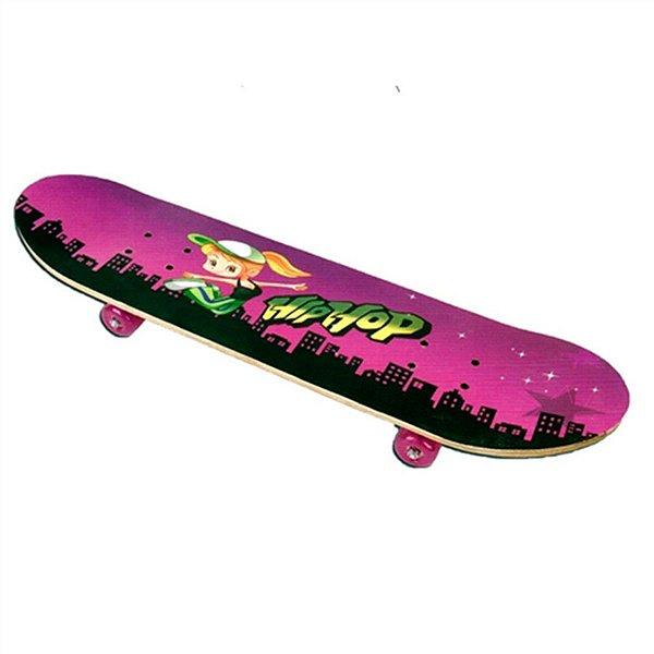 Skate Simples Rosa Fenix