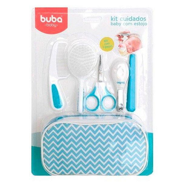 Kit Cuidados Baby com Estojo Buba Baby Azul