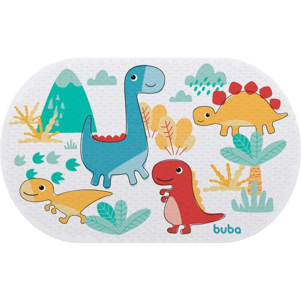 Tapete para Banho Antiderrapante Dino Buba