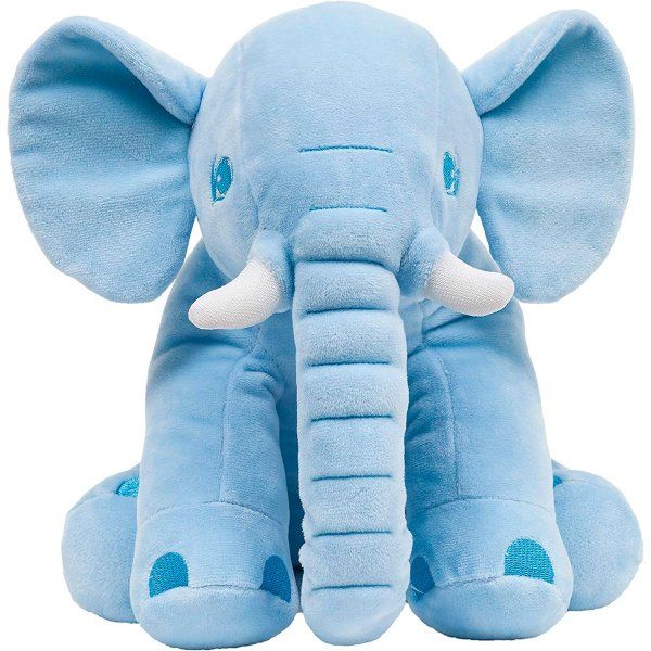 Almofada Bebe Elefantinho Azul Buba