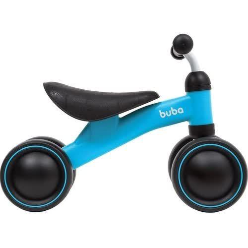 Bicicleta De Equilíbrio 4 rodas Azul Buba