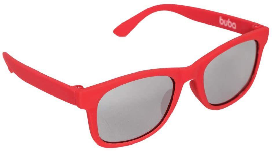 Óculos de Sol Baby Armação Flexível Vermelho