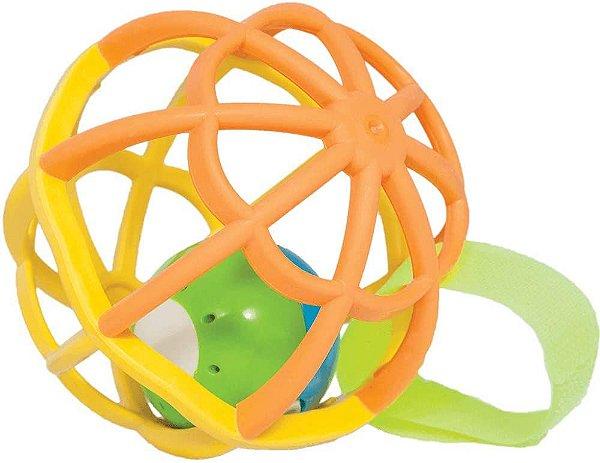 Baby Ball Azul e Verde Com Luz e Som