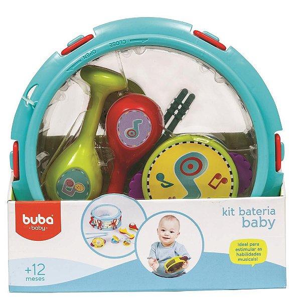 Kit Musical Infantil Bateria Baby Buba