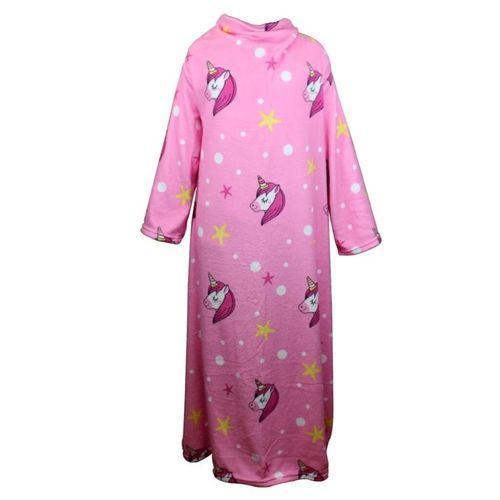 Cobertor Soft Com Mangas Unicornio