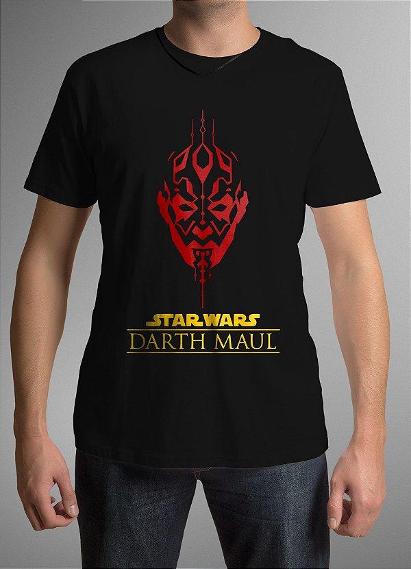 Camiseta Masculina - Dart Maul - Star Wars