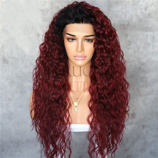 Lace Front Morgana Chocolate Com Raiz