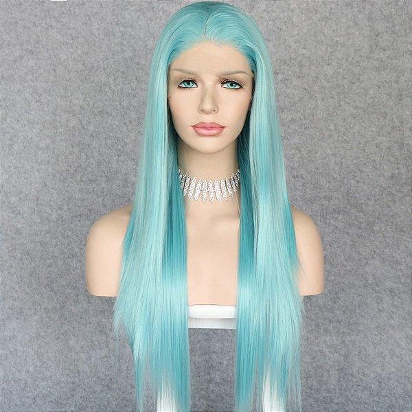 Lace Front Melissa  Azul Celeste