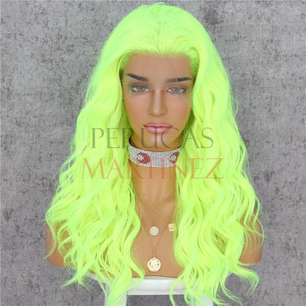 LACE FRONT KAMILLA NEON