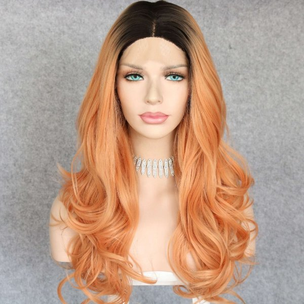 LACE FRONT VÂNIA CORAL OMBRE