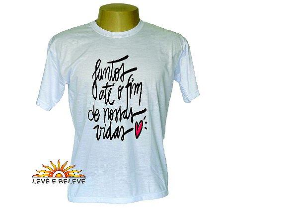 Camiseta Juntos até o fim
